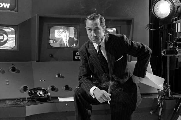 "In this photo provided by Warner Independent Pictures, David Strathairn as Edward R. Murrow in ""Good Night, And Good Luck."" Photo: Anonymous, AP Photo / AP2005"