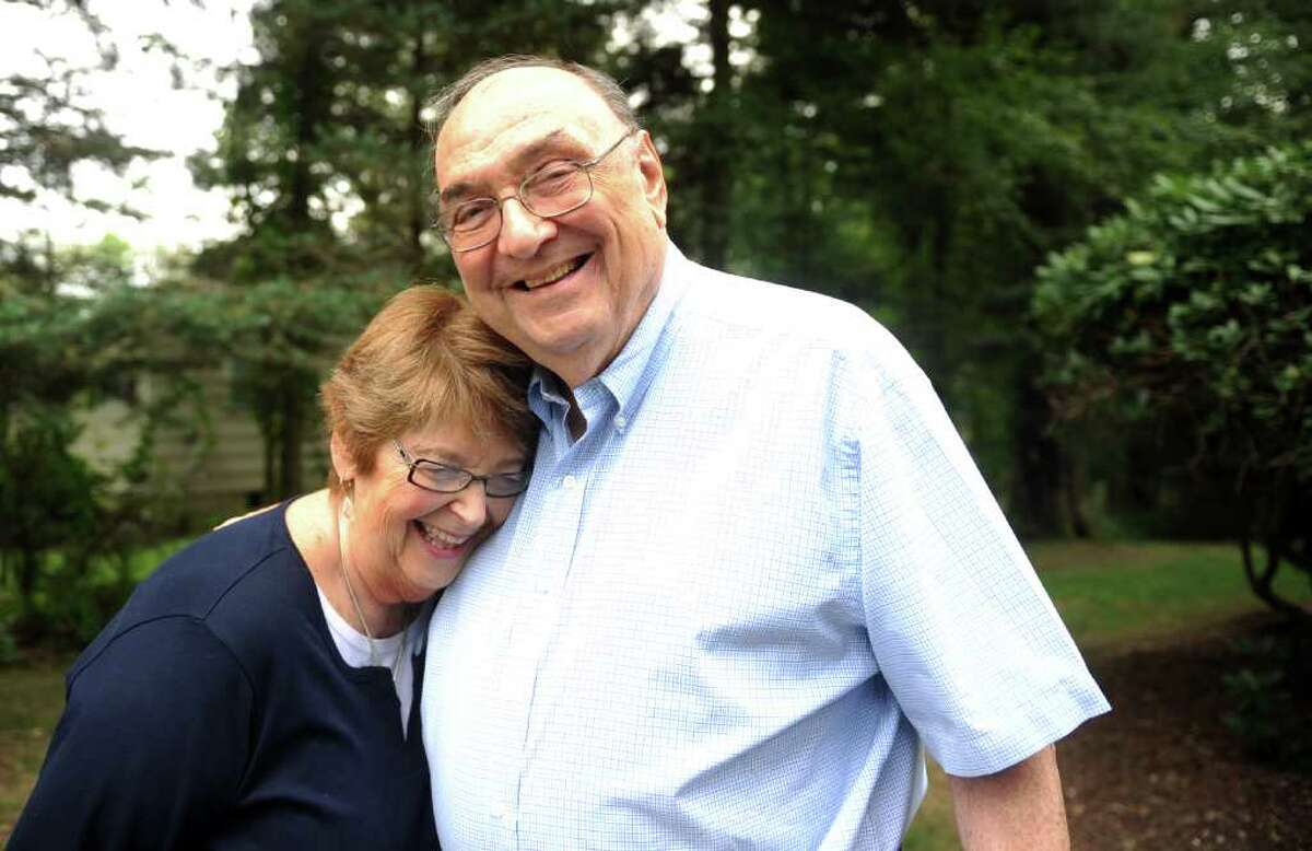 Rosalind and Arthur Friedman, of Trumbull, were travelling by airplane when the Twin Towers were attacked. Their flight was rerouted to Canada where they spent five days before returning home to Connecticut.