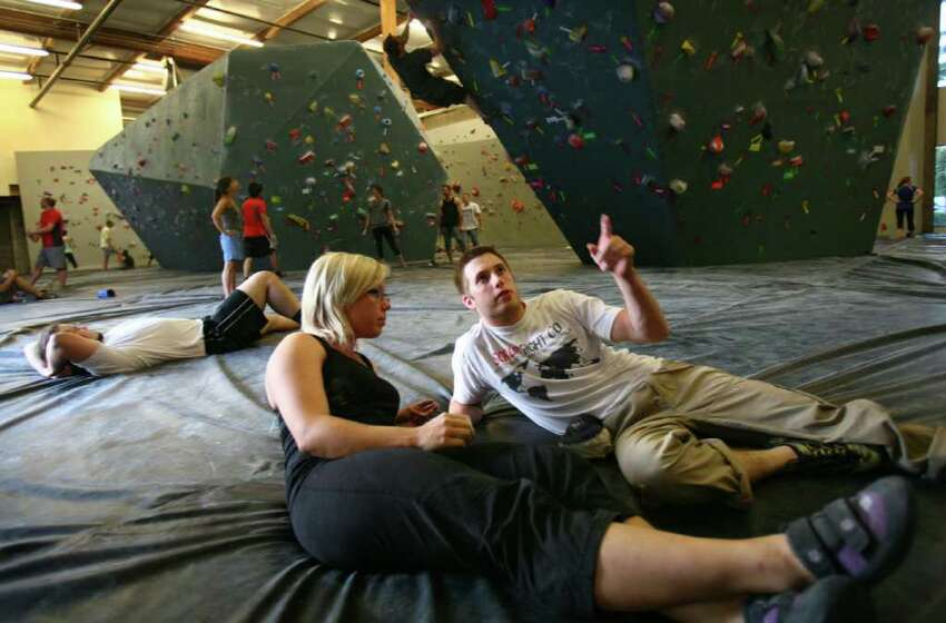 Fitness and wellness date: Seattle Bouldering Project, Beacon Hill Komal R.: