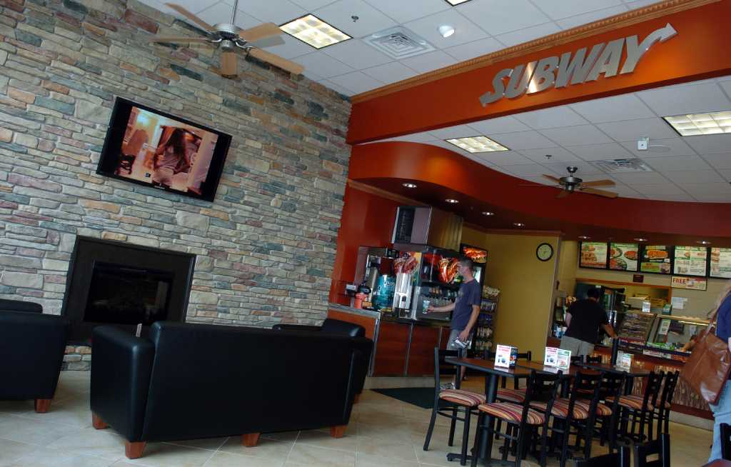 New subway design an upscale cafe connecticut post