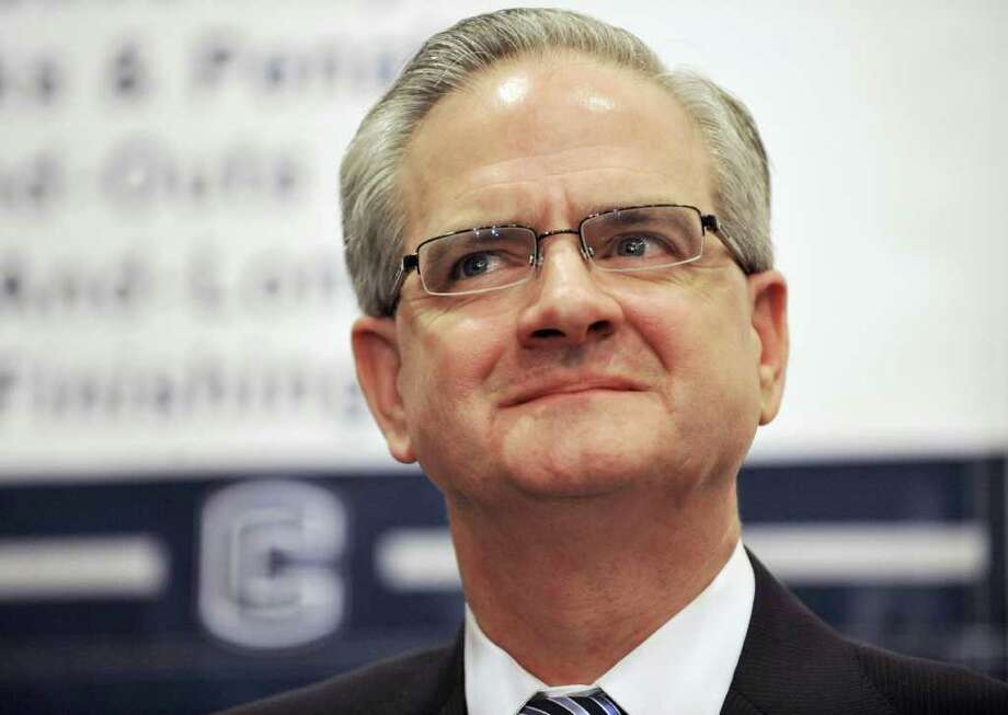 FILE — Former University of Connecticut athletic director Jeff Hathaway. Photo: Jessica Hill, Associated Press / AP20112011