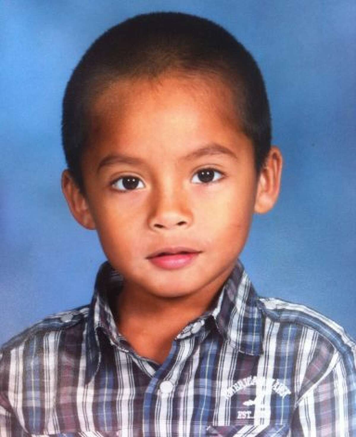 Rudy Alejos, 6, is seen in an undated courtesy photo provided by his family.