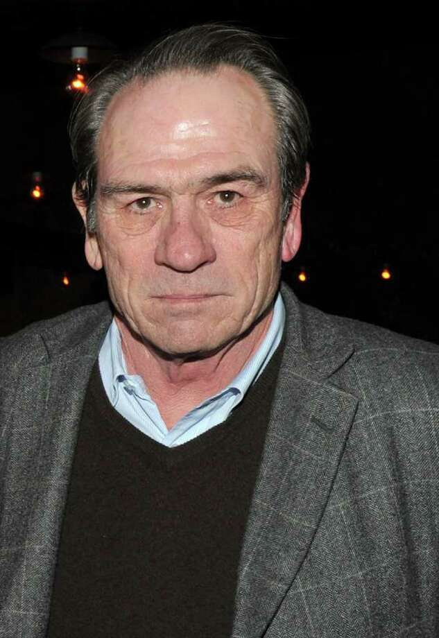 Actor Tommy Lee Jones was seen having dinner with friends at Mediterraneo on Greenwich Avenue Monday night. (Photo by Stephen Lovekin/Getty Images for The Weinstein Company) Photo: Stephen Lovekin, Getty Images For The Weinstein C / 2010 Getty Images