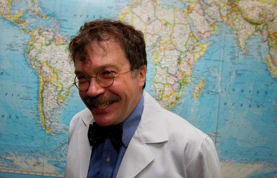 Dr. Peter Hotez is dean of the new school of tropical medicine at the Baylor College of Medicine.  (Cody Duty / Houston Chronicle ) Photo: Cody Duty, Staff / © 2011 Houston Chronicle