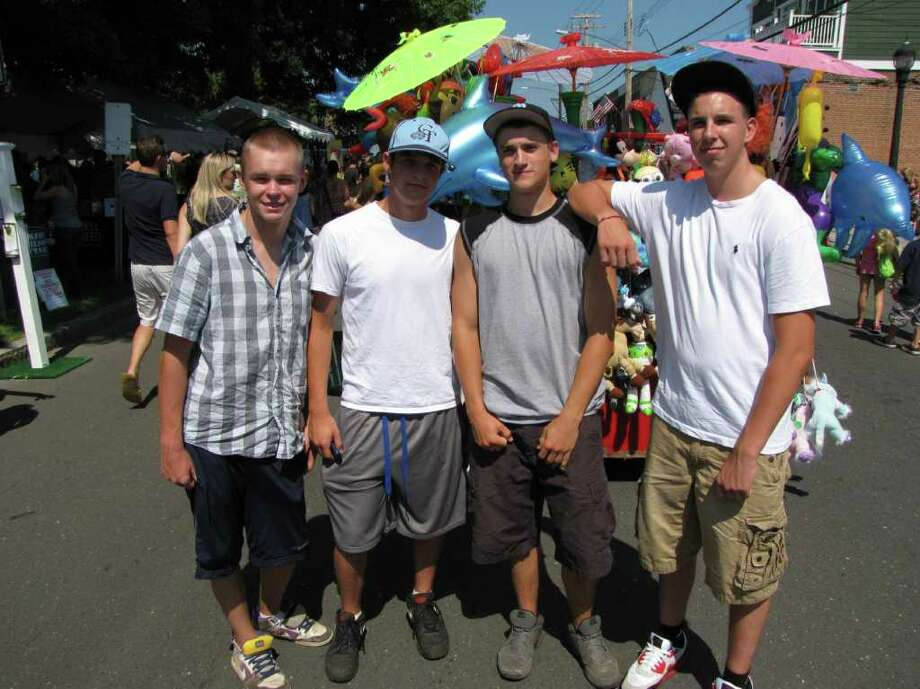 Were you seen at the Milford Oyster Festival on Saturday, August 20, 2011? Photo: Vincent Rodriguez / The News-Times