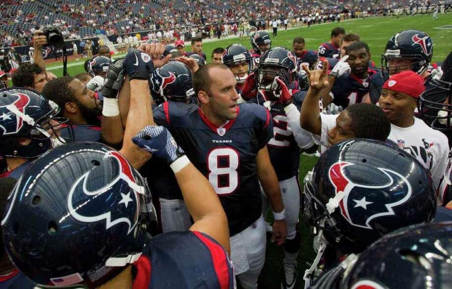 1. Texans. Repeat after me - if the defense is better, the playoffs beckon. It's that 