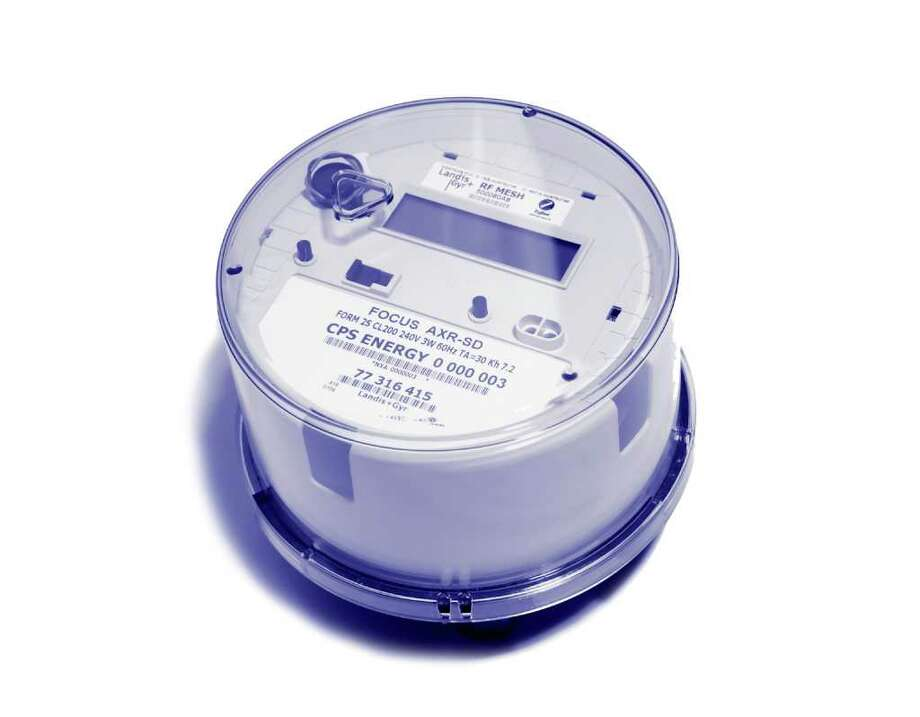 Data from smart meters are collected every 15 minutes and sent to CPS Energy once every 24 hours via a fiber optic network. The meters do not allow the utility to control electricity consumption. Photo: Courtesy Photo