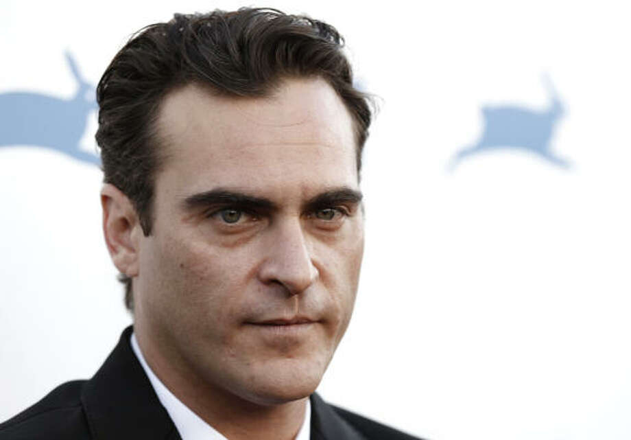 Joaquin Phoenix was born with the famous mark above his lip, known as a microform cleft. Photo: Matt Sayles, AP
