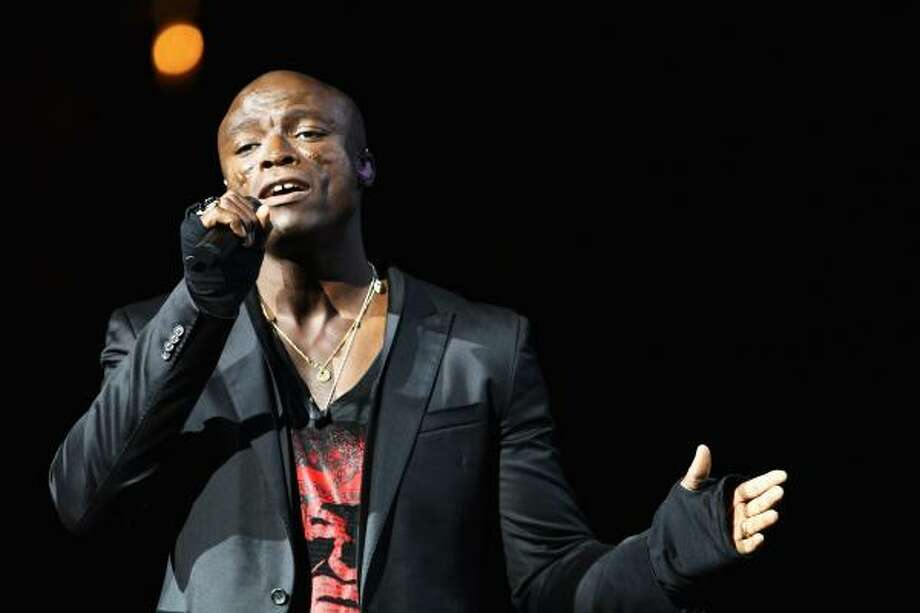 """I got really depressed about [the scars] at first, as you can understand. Now I really like them,"" Seal said of a disease that has left him with facial scars, the cause of which is unknown. Photo: Dan Kitwood, Getty Images"