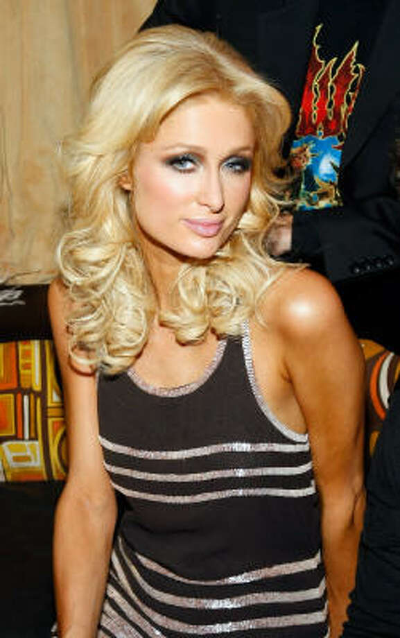 Paris Hilton has a drooping left eyelid that was supposedly caused by an eye lid surgery gone awry. Photo: Ethan Miller, Getty Images