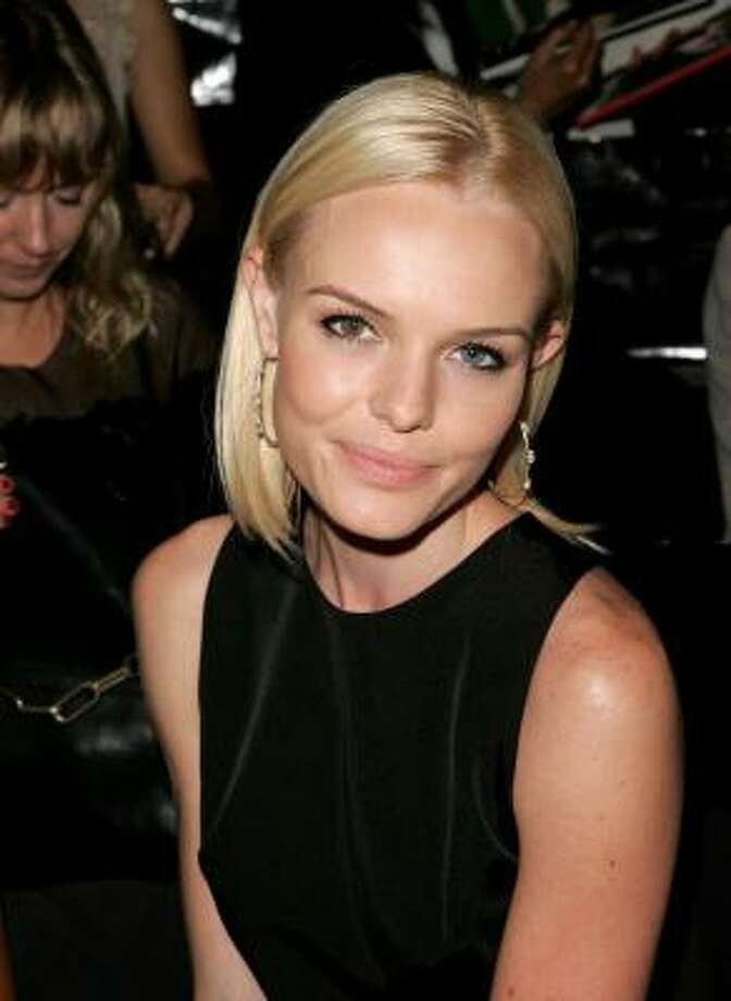 Kate Bosworth was born with heterochromia. Her eyes are two different colors - brown and blue. Photo: Bryan Bedder, Getty Images For IMG