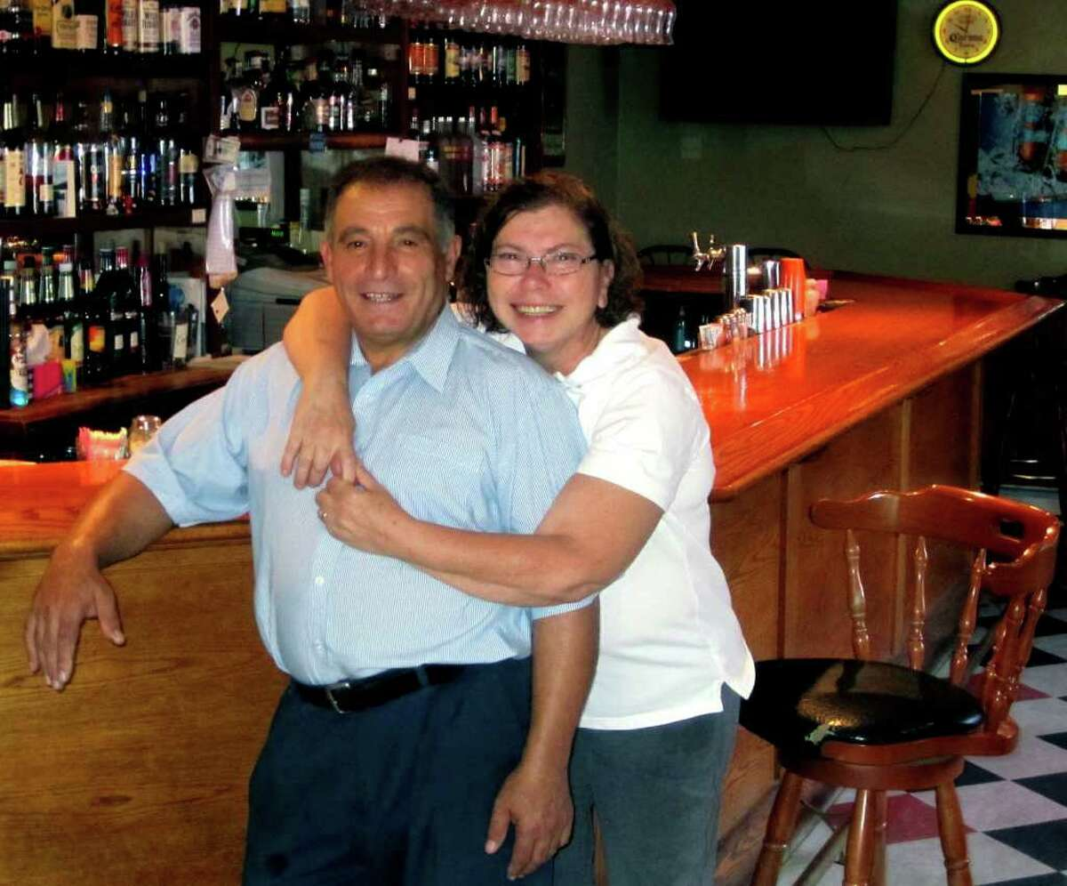 SPECTRUM/Franco and Mimi Leto have created a close bond with the community during their quarter-century of ownership at Alfredo's Restaurant in the Gaylordsville section of New Milford. August 2011