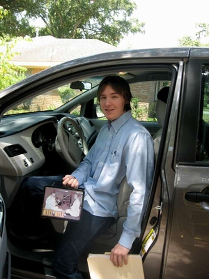 Reggie going off to college. From blog.chron.com/goodmombadmom Photo: Momhouston