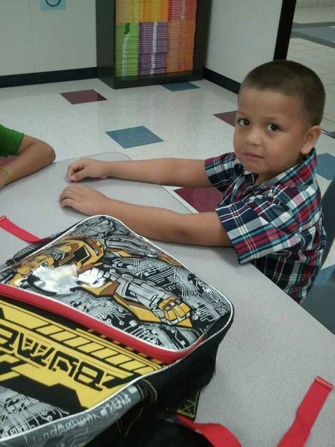 Ramiro Garcia, Jr on his first day to kindergarten in cyfair Photo: Momhouston