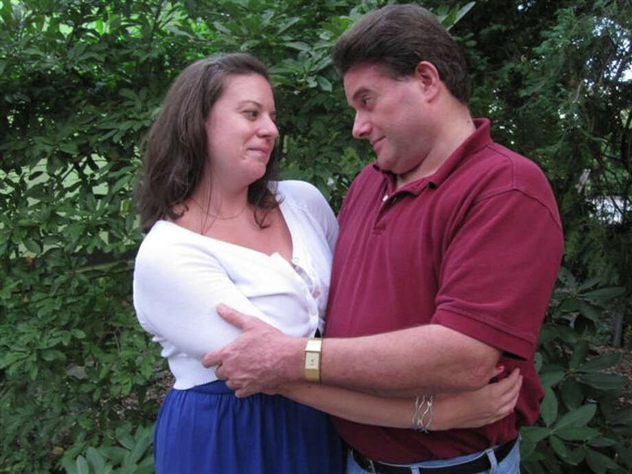 Marta Backman and Tom Petrone of Norwalk will appear as Frankie and Johnny. Photo: Contributed Photo