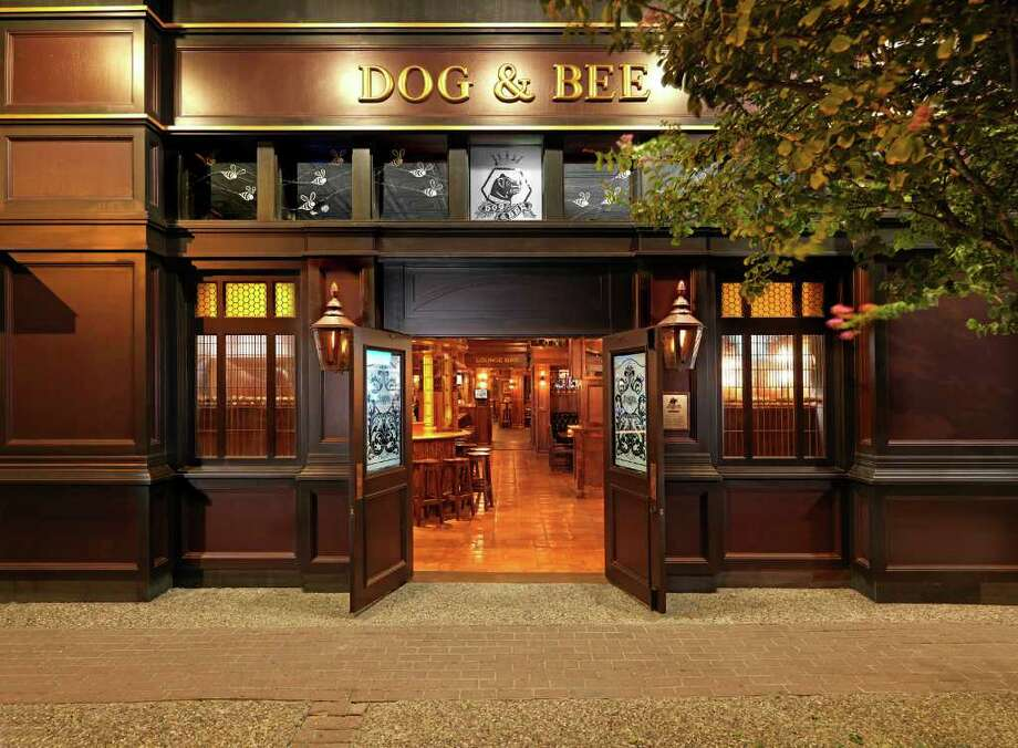 """The Dog & Bee, a British pub that's the first franchise operation of MadDogs on the River Walk, opened recently in Beeville. It's owned by Brenda Hughes, the wife of a local oilman, and managed by Terry Corless, who owns MadDogs. """"We spared no expense"""" on the pub, Corless said. It has antiques from Great Britain. Photo: COURTESY PHOTO / courtesy of David Massey Photography"""