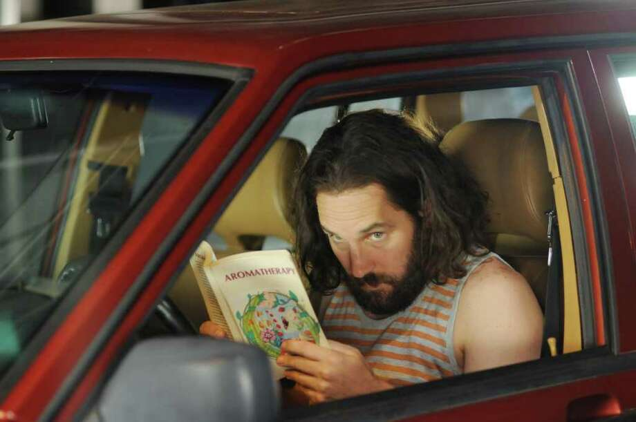 Paul Rudd stars as Ned, a hapless, hopeless idealist in Our Idiot Brother. Photo: Nicole Rivelli, Associated Press / ©2011 The Weinstein Company. All Rights Reserved.