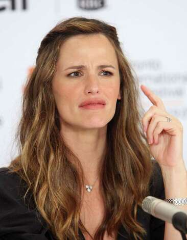 ... 14: Actress Jennifer Garner speaks onstage at the