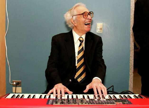 Jazz musician Dave Brubeck, Wilton resident. Photo: Handout, Wire Photo / 2008 The California Museum's