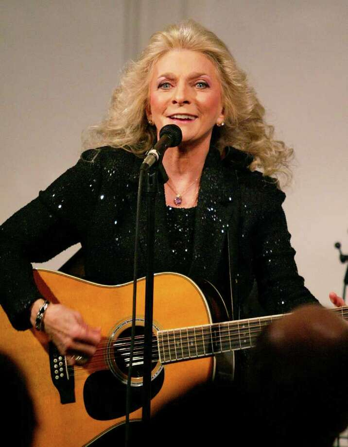Thursday: Singer Judy Collins will perform at the Ridgefield Playhouse. Photo: Vince Bucci, Wire Photo / 2004 Getty Images