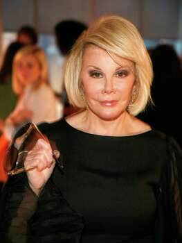 Joan Rivers, New Milford resident. Photo: Andy Kropa, Wire Photo / 2011 Getty Images