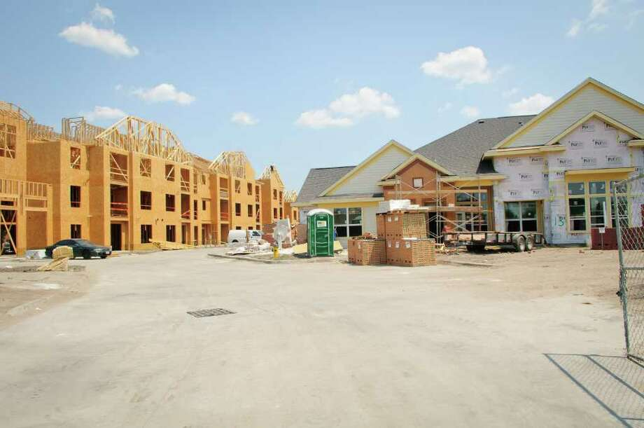 Providence TownSquare is under construction and is a Senior Community in Deer Park.  CNN/Money named Deer Park 10th most affordable housing community in U.S. Photo: Kim Christensen, Freelance / ©Kim Christensen