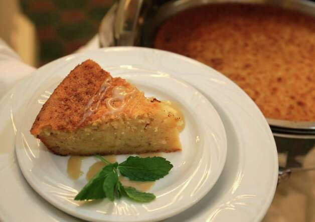 The chefs at the Menger Hotel may change, but the recipe for bread pudding remains a classic. Photo: BOB OWEN, SAN ANTONIO EXPRESS-NEWS / rowen@express-news.net