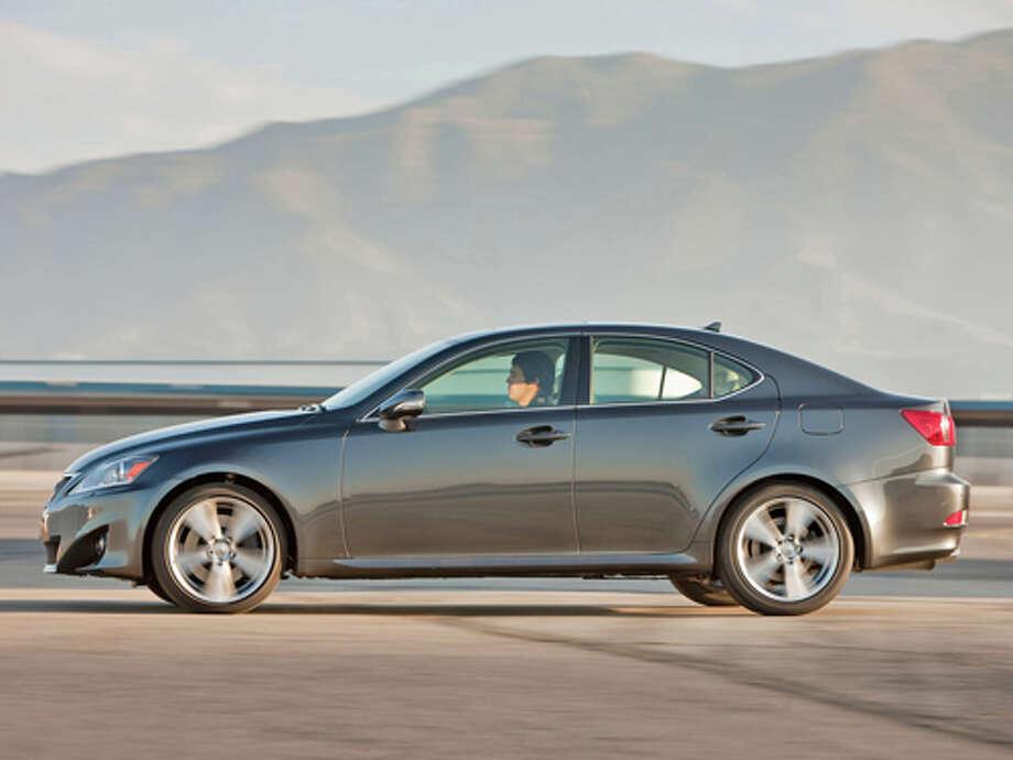 2011 Lexus IS 350 AWD (photo courtesy Lexus) / Dewhurst Photography