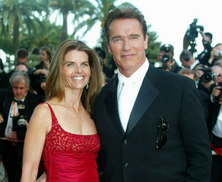 Who:Arnold Schwarzenegger and Maria Shriver Married for: 25 years Photo: LIONEL CIRONNEAU, AP