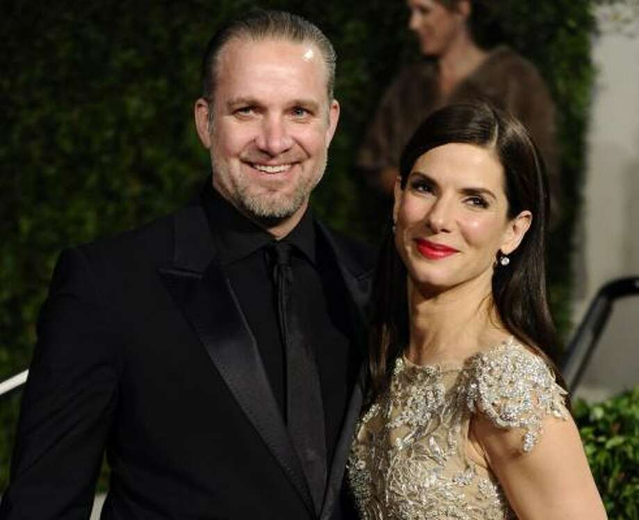 Who: Sandra Bullock and Jesse James 
