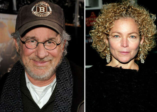 Who:Steven Spielberg and Amy Irving