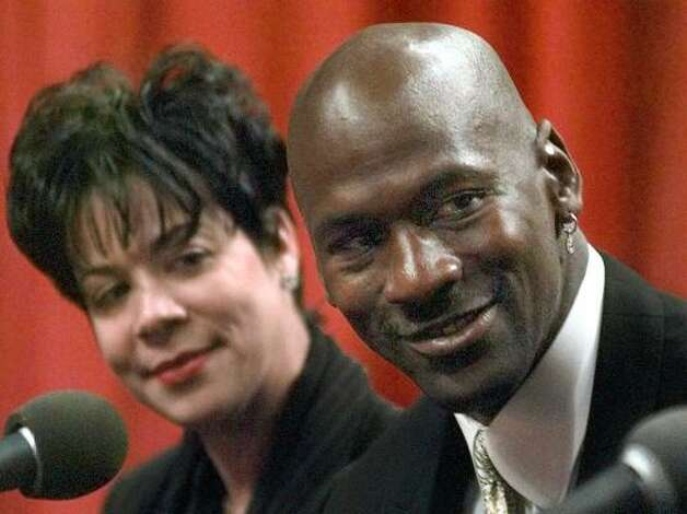 Who: Michael Jordan and Juanita Jordan