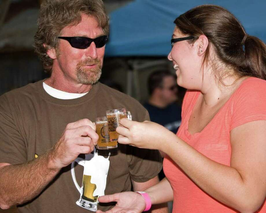 The annual BrewMasters Craft Beer Festival is at Moody Gardens. Photo: COURTESY Mark Goodman