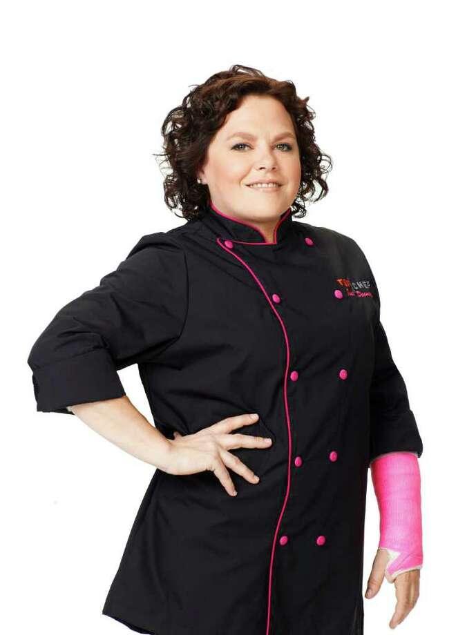 Houston pastry chef Rebecca Masson is a contestant in the Top Chef Just Desserts competition on Bravo. Photo: Bravo / © Bravo