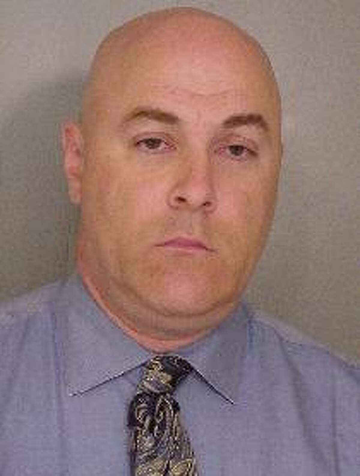 Ex-Troy City Clerk William A. McInerney in the mugshot from his arrest by State Police probing allegations of ballot fraud in Troy. (State Police)