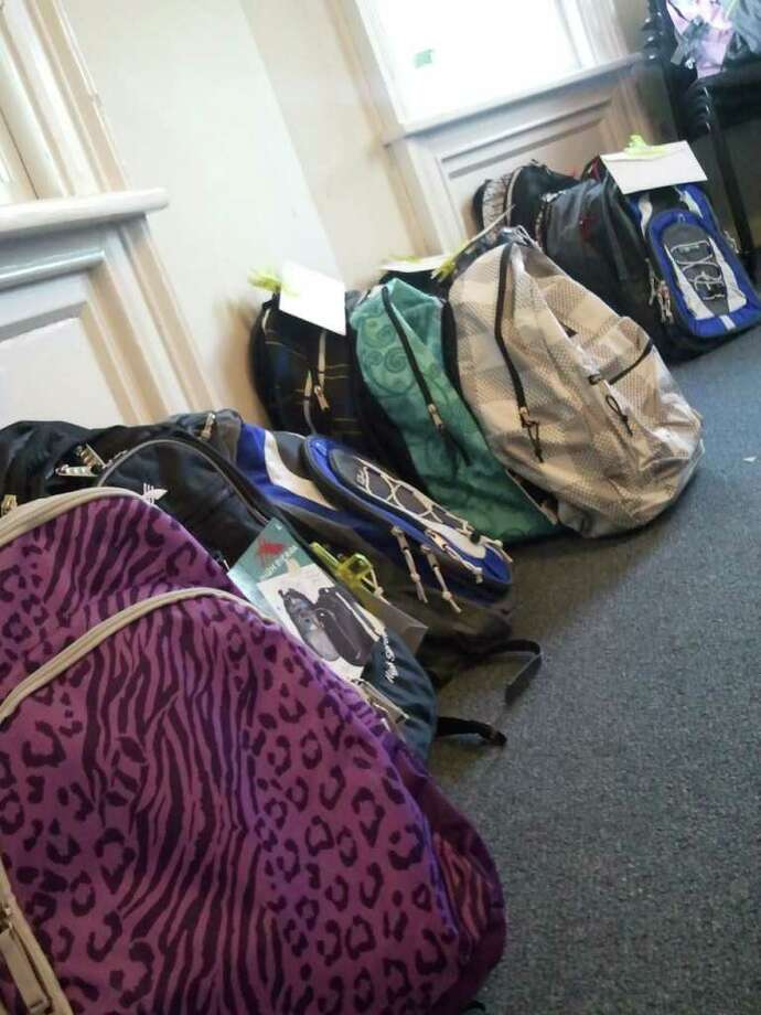 The New Canaan Human Services Department, along with members of New Canaan's National Charity League, will donate new backpacks filled with supplies to residents in need. Photo: Contributed Photo