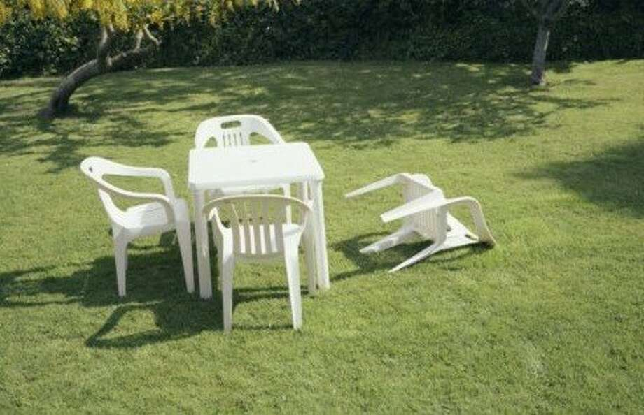 Lawn devastation. Photo via Posterous/jmckinley Photo: Posterous/jmckinley