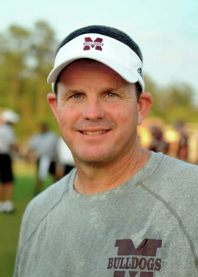 Magnolia Head Football Coach Andy Sexton Photo: Jerry Baker, Freelance