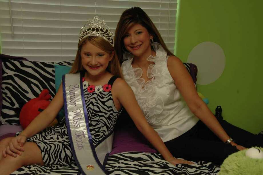 Kayla Black, left, and her mother Annette each have won prizes at beauty pageants Photo: Jimmy Loyd / freelance