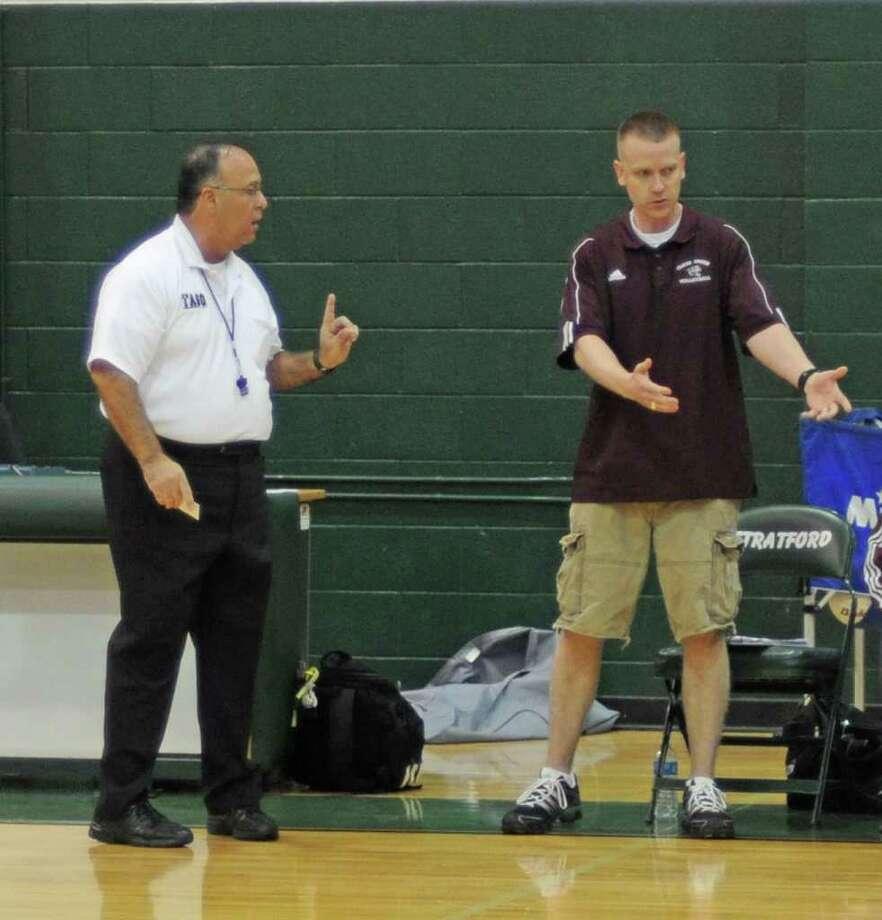Clear Creek head volleyball coach Scott Simonds Photo: L. Scott Hainline / freelance