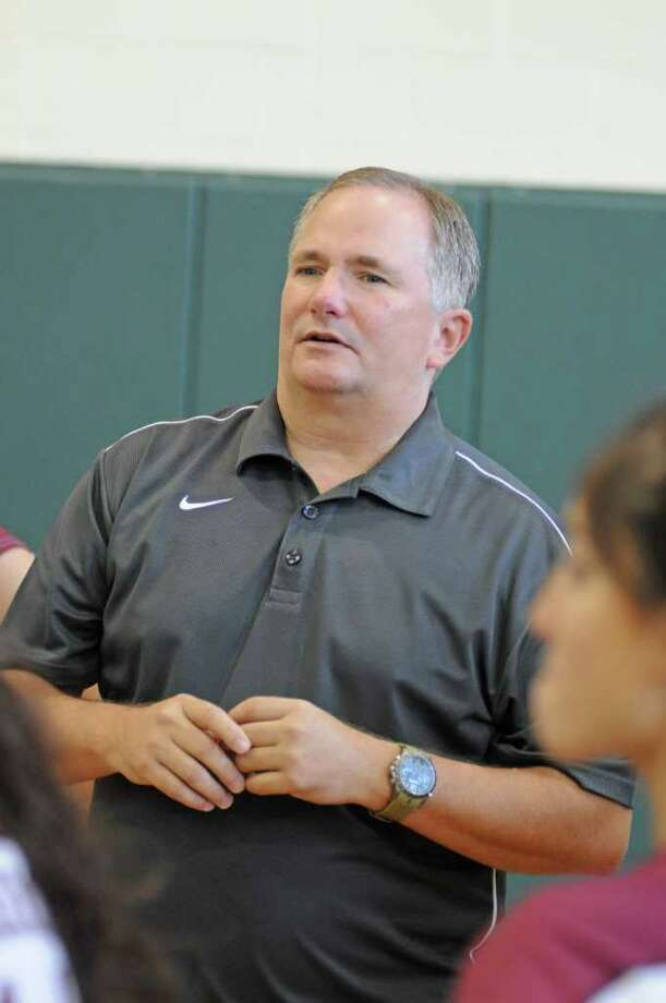 Pearland volleyball coach John Turner Photo: L. Scott Hainline / freelance