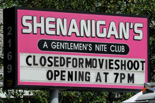 "The movie ""Place Beyond the Pines""  being filmed at Shenanigans Gentleman's Club in Colonie, NY, on Wednesday, Aug. 24,2011.( Michael P. Farrell/Times Union archive) Photo: Michael P. Farrell"