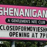 """The movie """"Place Beyond the Pines""""  being filmed at Shenanigans Gentleman's Club in Colonie, NY, on Wednesday, Aug. 24,2011.( Michael P. Farrell/Times Union archive)"""