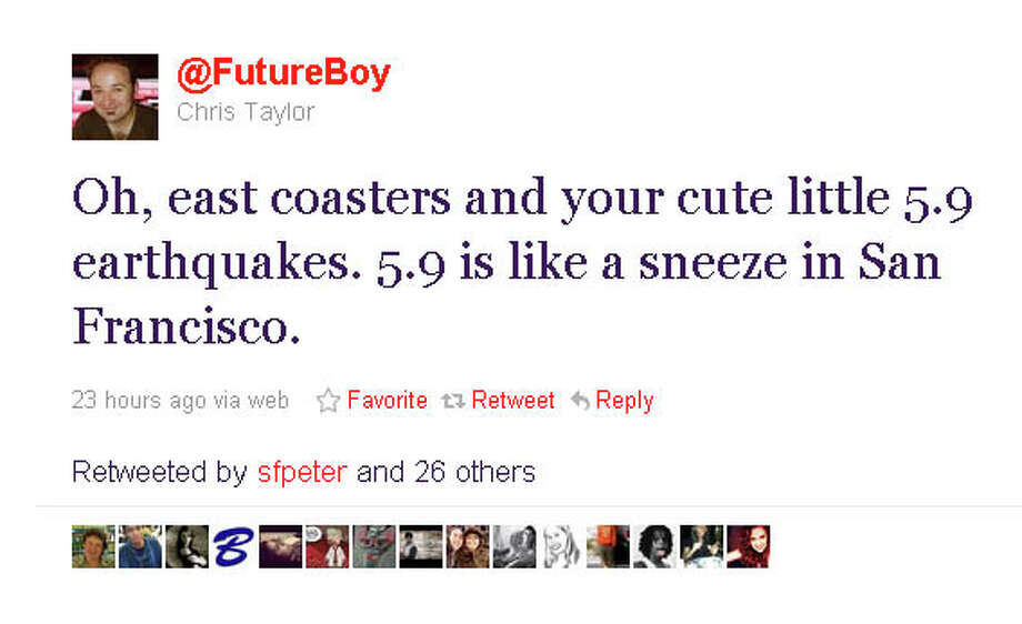 Cute. (@FutureBoy via Twitter) Photo: @FutureBoy, Twitter