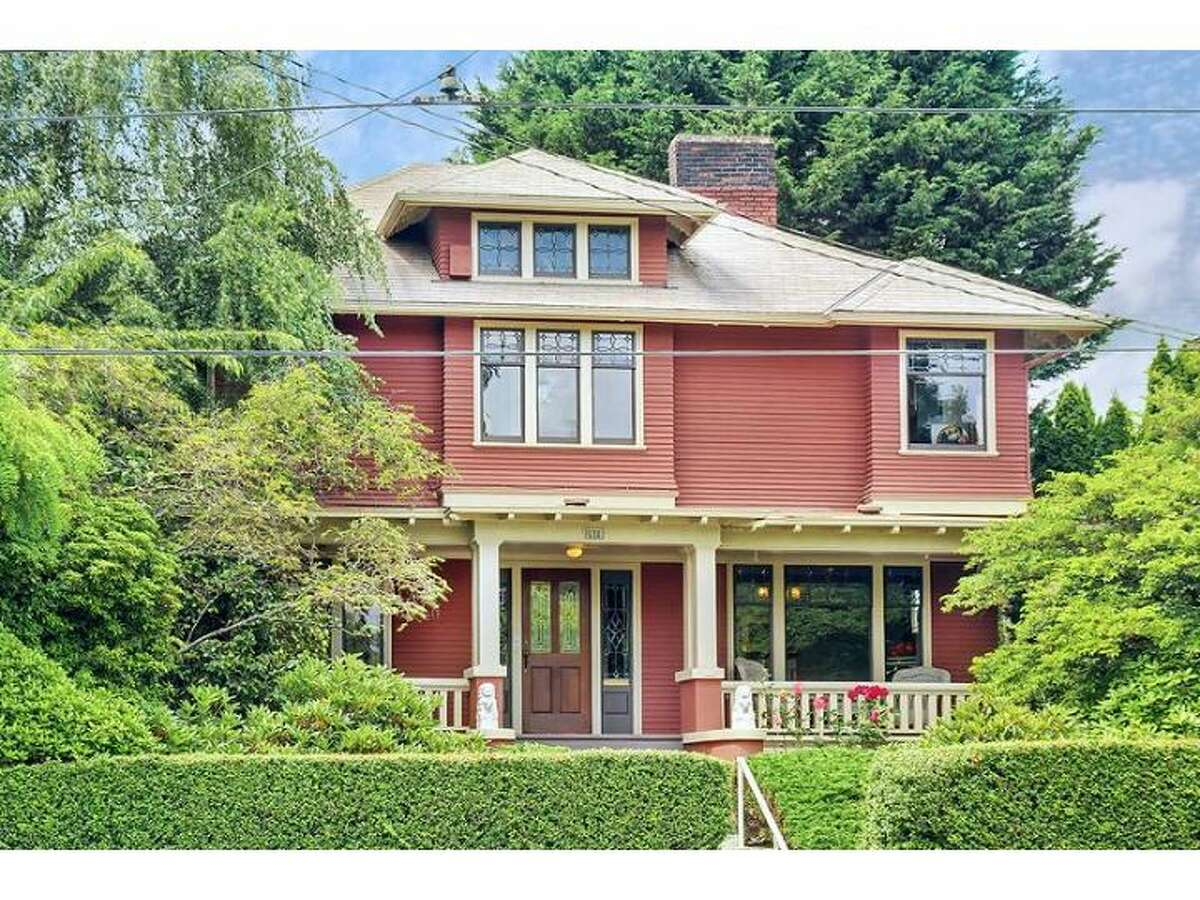 Here's a classic Foursquare home built in 1911 at 2519 31st Ave. S., in Seattle's Mount Baker neighborhood. The 3,790-square-foot house has four bedrooms, 3.25 bathrooms,a large front port, leaded glass, wide, exposed-wood moldings, a finished basement and a two-car garage. The 5,000-square-foot lot features a deck behind the house. It's listed for $649,000. (Listing: www.windermere.com/index.cfm?fuseaction=listing.listingDetailUpdated&listingID=130487155)