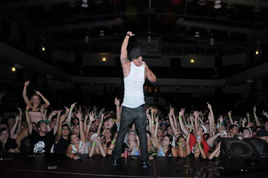 "Norwalk emcee Chris Webby, 22, recently capped off a national tour. His fans, whom he calls ""ninjas,"" number in the hundreds of thousands. (Photo/McMoronic Photography). Photo: Contributed Photo"