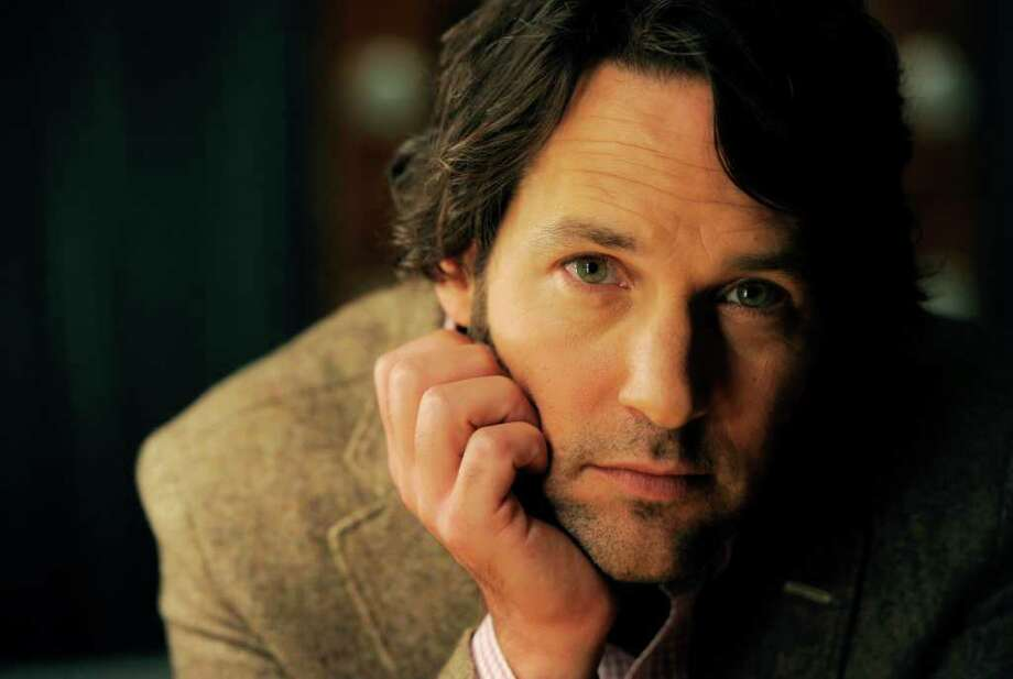 "In this Aug. 16, 2011 photo, actor Paul Rudd poses for a portrait in Los Angeles. Rudd stars in the new comedy ""Our Idiot Brother."" (AP Photo/Chris Pizzello) Photo: Chris Pizzello, STF / AP2011"