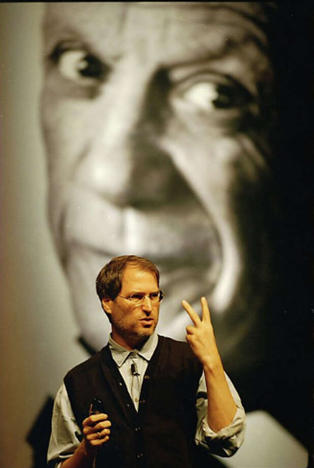 Steve Jobs in October 1997. Photo: Tim Kao / The Chronicle