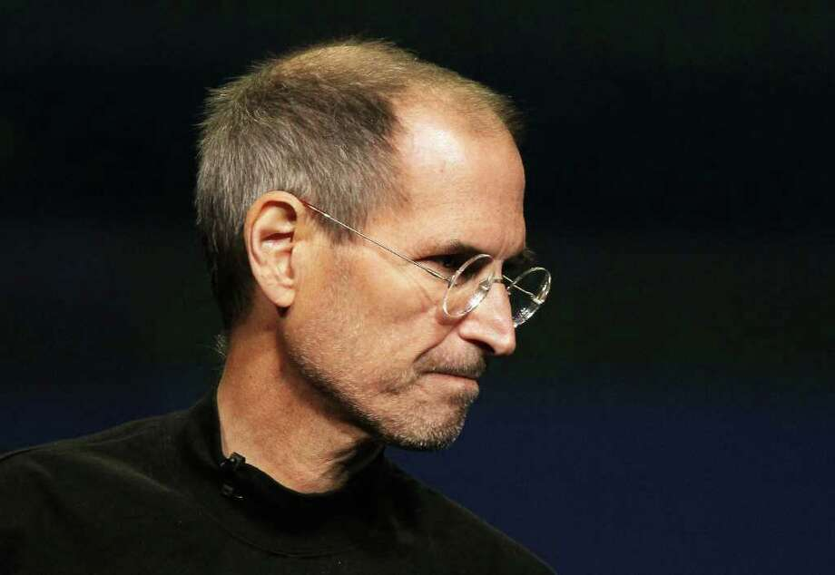 Apple CEO Steve Jobs speaks during an Apple Special event to unveil the new iPad 2 at the Yerba Buena Center for the Arts on March 2, 2011 in San Francisco, California. Apple unveiled the iPad 2 as the successor to its popular tablet, the iPad.  Photo: Justin Sullivan, Getty Images / 2011 Getty Images