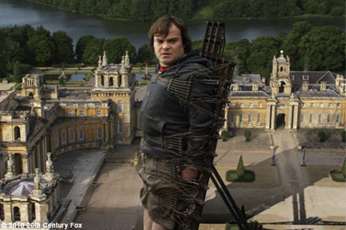 Jack Black as Lemuel Gulliver in